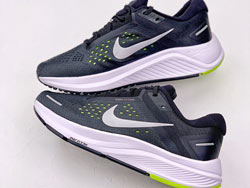 Mens Nike Air Zoom Structure 23 Low Running Shoes One Color