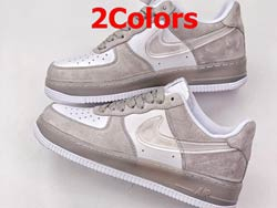 Mens And Women Nike Air Force1 Low'07 Running Shoes 2 Colors