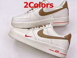Mens And Women Nike Air Force 1 Low Shoes 2 Colors